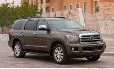 My new ride!!        Toyota Sequoia- named one of the most reliable vehicles.