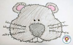 This would be an activity for kids who are slightly more advanced with script. They can write cursive words and form them into a shape of an animal. It is a fun way to practice writing while doing something slightly more challenging. Groundhog Day Activities, Fun Writing Activities, Spelling Activities, Holiday Activities, Teaching Cursive, Teaching Poetry, Teaching Language Arts, Learn Handwriting, Cursive Handwriting