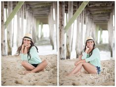 A bright, colorful oceanside and boardwalk senior session! Swoon Seniors - Ocean City, Maryland High School Senior Pictures http://swoonseniors.com