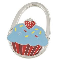 Amico Red Strawberry Decor Cake Pattern Foldable Metal Handbag Hook Purse Hanger by Amico. $6.25. Style : Foldable;Suitable for : Lady. Brand : SourcingMap;Color : Blue;Exact Color : Brown,Red,Silver Tone. Shade : Other Blue;Size : Small;Size Type : Regular. Net Weight : 63g;Package Content : 1 x Handbag Hook;Pattern : Cake Pattern. Folded Size : 6.3 x 4.5 x 1.1cm/ 2.5 x 1.8 x 0.4 inches(L*W*T);Height : 6.3cm/ 2.5 inches;Material : Metallic,Rubber. Features red strawberry...