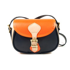 Small shoulder handbag, flap bag, in pennington canvas
