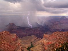 Thunderstorm on the Canyon