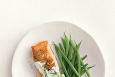 Salmon With Dill Sauce Recipe | Real Simple