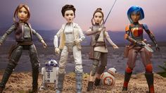 "Disney and Lucasfilm just announced Star Wars: Forces of Destiny, a series of animated shorts showcasing heroic women from a galaxy far, far away. Hasbro compliments the shorts with a lovely line of 11-inch ""Adventure Figures."" It's okay to say dolls. They're very nice dolls."