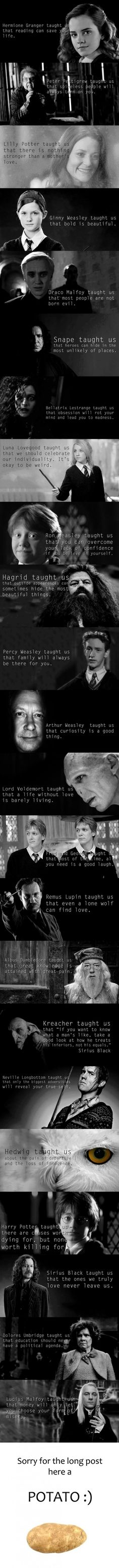 What Harry Potter taught us