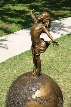 """Angela Mia De La Vega, """"Joyful Empowerment"""", bronze"""
