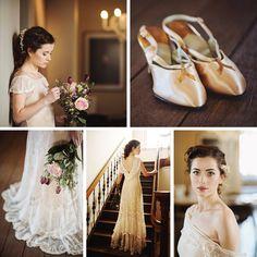 Beautiful Bridal Inspiration with Edwardian Wedding Dresses