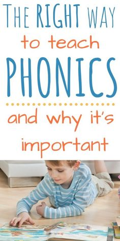 Teaching a Child How to Read With Phonics {Reading Series Part 2} - Two Pine Adventure