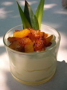 Crème Chibouste à l'Ananas Caramélisé