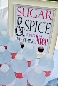 Sugar and Spice themed first birthday...love this idea.