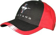 FORD MUSTANG WITH STRIPE CAP : Ford Hats