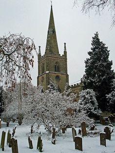 St Nicholas Church 2009 Snow Day in Warwick | Flickr - Photo Sharing!