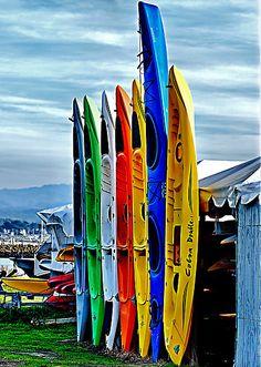 Sea Kayaks ~ the longer the better!