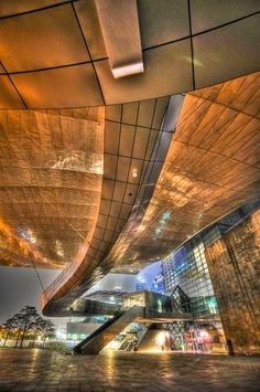 Architechtural Designs -   The Pusan Cinema Center in Korea