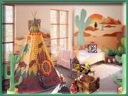 cowboys and indians children's room | decorating - cowboys theme rooms - murals - southwestern cowboy ...