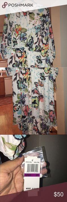 Melissa McCarthy 7 High Low dress size 2X New with tags, dress has Pockets Seven7 Dresses High Low