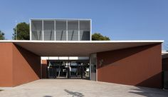 Gallery of Intervention in Santa Teresa de Jesús School / Peñín Architects - 4 Education Architecture, Interior Architecture, Rubber Flooring, Outdoor Decor, Entrance, Commercial, Museum, Home, Gallery