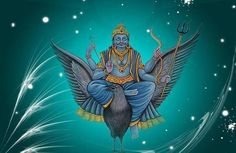 "Chanting the Shani Mantra reduces the malefic effects of Saturn in Horoscope. Given below are some Mantras of Shani dev. ""Om Hlim Sham Shanaye Namah"""