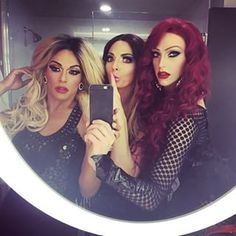 """When the entire Haus of Edwards had a secret.   29 Times The Queens Of """"RuPaul's Drag Race"""" Redefined Squad Goals"""