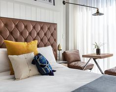 Looking for the The Williamsburg Hotel Brooklyn ? Check our special offers and deals on our collection: My Boutique hotel Brooklyn Brooklyn Hotels, Williamsburg Hotel, York Hotels, Queen Room, Cute Bedroom Ideas, Small Room Bedroom, Bedroom Desk, Bedroom Inspo, Sims House