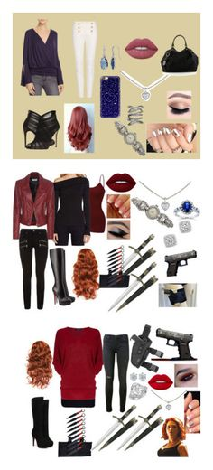 """""""Jasmine Jamison"""" by lacy-vonbuskirk on Polyvore featuring Ella Moss, Balmain, Dolce&Gabbana, Cartier, Sidney Chung, Allurez, Lime Crime, Casetify, Gucci and rag & bone"""