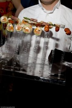 Hors d'oeuvres created by Westin Galleria Dallas' fabulous culinary team! From presentation to taste, it's always perfect!