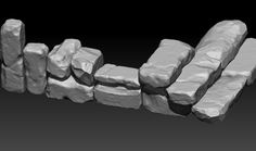 ArtStation - stones, Dima Shcherbak