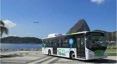 Zero-Emissions All-Electric Bus Launches in Rio de Janeiro