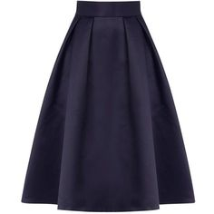 Coast Meslita Skirt, Navy ($115) ❤ liked on Polyvore featuring skirts, bottoms, saias, navy blue skirt, midi skirt, blue skirt, navy blue knee length skirt and mid calf skirts