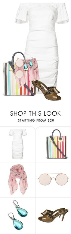 """""""Rainbow tote"""" by meabee28 ❤ liked on Polyvore featuring Nicole Miller, Sophie Hulme, Humble Chic, Sunday Somewhere, Antica Murrina and Dolce&Gabbana"""