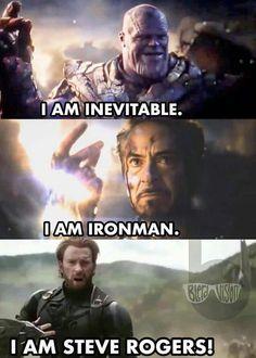 Funny Marvel Memes, Marvel Jokes, Avengers Memes, Marvel Dc Comics, Marvel Avengers, Marvel Cinematic Universe Movies, Marvel Universe, Inevitable, Steve Rogers