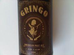 Cerveja Urbana Gringo American Pale Ale, estilo American Pale Ale, produzida por Cervejaria Urbana, Brasil. 6.5% ABV de álcool.