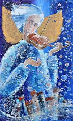 """gregorio catarino on Twitter: """"… """" Art And Illustration, Illustrations And Posters, Fantasy Kunst, Fantasy Art, Angel Art, Sacred Art, Whimsical Art, Christmas Pictures, Beautiful Paintings"""