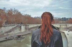 La fille rousse en Paris