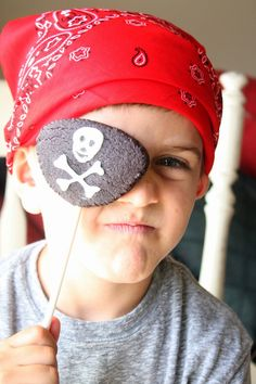 Pirate Eye Patch Cookie Pop
