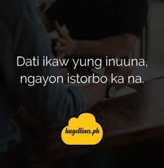 tagalog hugot lines Cute Love Quotes, Super Funny Quotes, Funny Quotes For Teens, Funny Love, Tagalog Quotes Hugot Funny, Hugot Quotes, Tagalog Love Quotes, Pinoy Quotes, Deep Relationship Quotes