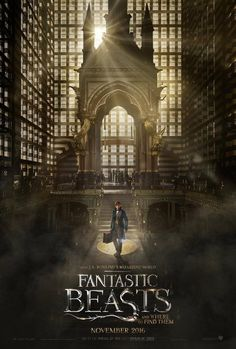 Directed by David Yates. With Ezra Miller, Eddie Redmayne, Colin Farrell, Ron Perlman. The adventures of writer Newt Scamander in New York's secret community of witches and wizards seventy years before Harry Potter reads his book in school. Great Movies, New Movies, Movies To Watch, Movies Online, 2016 Movies, Film Watch, Blockbuster Movies, Awesome Movies, Family Movies