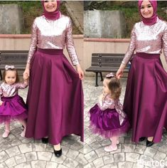 New Dress For Girl, Mommy And Me Dresses, Girls Dresses, Mother Daughter Matching Outfits, Daughter Love, Gowns For Rent, Eid, Custom Clothes, Hijab Fashion