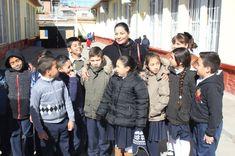 Visita Diana Karina Velázquez al Diputado Infantil por un Día 2018 en Parral | El Puntero