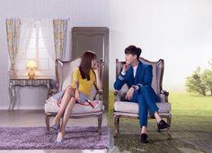 "Dorama ""W - two worlds"", Kang Chul, Yeon Joo"