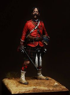 Captain F.S Chapman. Cameron Highlanders - Battle of Tel-El Kebir 1882