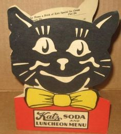 Katz Drug Store Soda and Lunch Menu, circa 1940's. In 1970 I ate lunch at the one downtown K.C. daily since I worked two blocks away at City Natl. Bank.