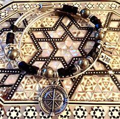 ♥ Promise Beaded Bracelet & Guide Me Compass Bangle♥  https://bbeni.com/collections/bracelets-perles/products/pyrite-et-onyx https://bbeni.com/collections/bracelets-de-charme/products/guide-me-compass