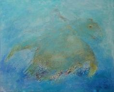 Buy Olivia- the rescued turtle, Acrylic painting by Doris Duschelbauer on Artfinder. Discover thousands of other original paintings, prints, sculptures and photography from independent artists. Acrylic Painting Canvas, Canvas Art, Abstract Expressionism, Abstract Art, Cracked Paint, Original Art, Original Paintings, Turtle Painting, Animal Fashion