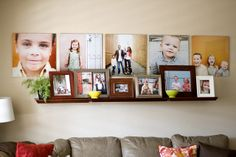 love how cherie mask has displayed her photos by tara whitney