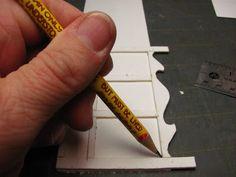 Dollhouse Miniature Móveis - Tutoriais | 1 polegada minis