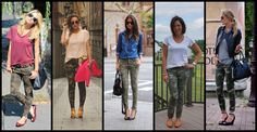 How to Wear Camo Pants {Outfit Evolution} #fashion #fashionblogger