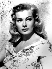 Anita Ekberg  Kerstin Anita Marianne Ekberg (born 29 September 1931) is a Swedish actress, model, and sex symbol. She is best known for her role as Sylvia in the Federico Fellini film La Dolce Vita (The Sweet Life, 1960), which features a scene of her cavorting in Rome's Trevi Fountain alongside Marcello Mastroianni.