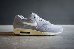 Nike Air Max 1 Essential Suede Pack | Grey | http://hvnshp.ca/1pkvXS5