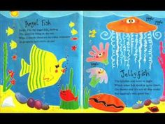 6 min Commotion in the Ocean -Dive into the ocean for a noisy rhyming romp packed with favourite sea creatures brought to life with fun, vibrant artwork. This bestselling picture book fro. Sea Activities, Ocean Unit, Read Aloud Books, Under The Sea Theme, Ocean Crafts, Rainbow Fish, School Videos, Preschool Books, Ocean Themes
